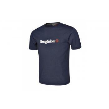 Bergfieber - T-Shirt Bergfieber LOGO blau Gr. XXL preview image