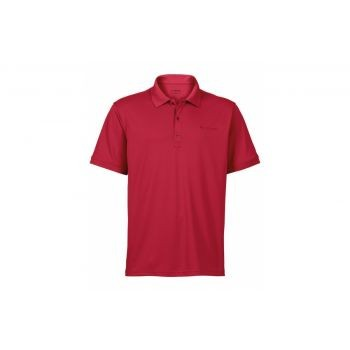 Vaude Mens Marwick Polo II indian red Größe XXXL preview image
