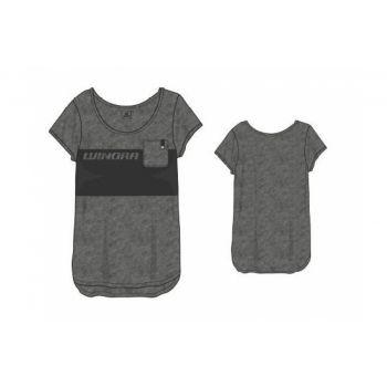 Winora T-Shirt ZollBerndZoll Damen hellgrau/dunkelgrau, Gr. M preview image