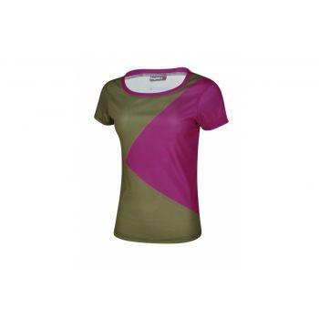 Bergfieber - Multisportshirt Bergfieber NOTA Da olive/purple Gr. L preview image