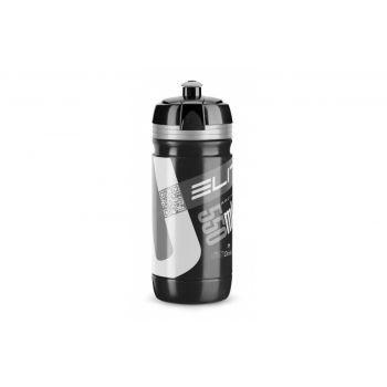 Elite - Trinkflasche Elite Corsa 550ml, schwarz, Logo silber preview image
