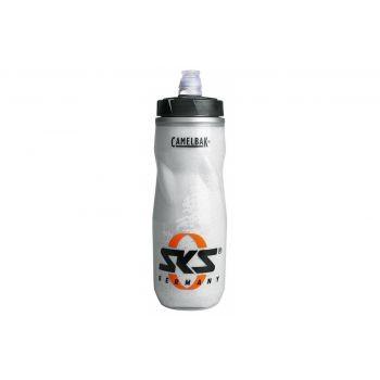 SKS - Trinkflasche SKS Kunststoff 500 ml, transparent mit SKS Logo preview image