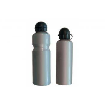 Diverse - Trinkflasche Alu 750ml, silber mit Deckel preview image