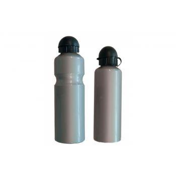 Diverse - Trinkflasche Alu 500ml, silber mit Deckel preview image
