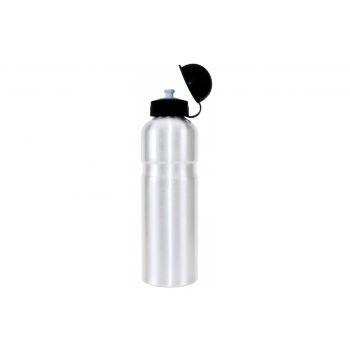 Diverse - Trinkflasche Alu 750ml, weiß mit Deckel preview image