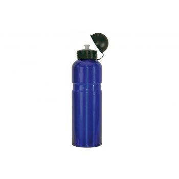 Diverse - Trinkflasche Alu 750ml, blau mit Deckel preview image