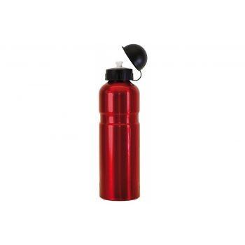 Diverse - Trinkflasche Alu 750ml, rot mit Deckel preview image