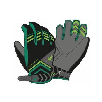 SealSkin - Handschuhe SealSkinz Dragon Eye MTB anthrazit/grün Gr.XL (11) preview image