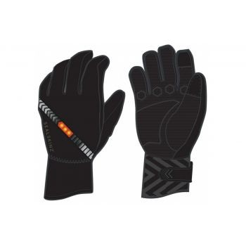 SealSkin - Handschuhe SealSkinz Halo All Weather Cycle schwarz Gr.M (9) preview image