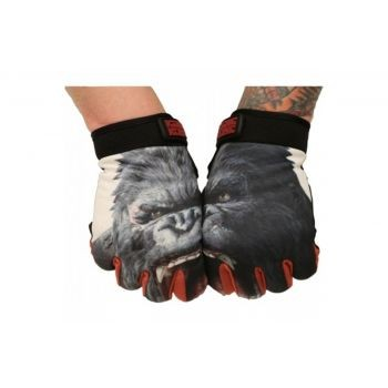 King Kong - angry glove black, Handschuh, kids S preview image
