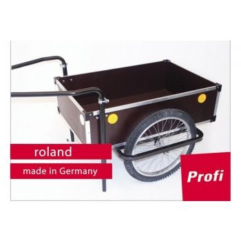 Roland - Anhänger Roland Profi 20Zoll Doppeldeichsel Holz/Metall, mit Kupplung preview image