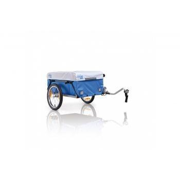 XLC - Fahrradanhänger XLC Carry Van Mod.2014 16Zoll m.Seitendeichsel 1 Kupplung u. Plane preview image