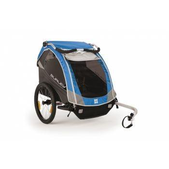 Burley - Fahrrad-Kinder-Anhänger Burley D`Lite Modell 2016 blau preview image