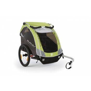 Burley - Fahrrad-Kinder-Anhänger Burley D`Lite Modell 2016 grün preview image