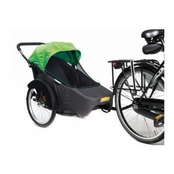 TwinnyLoad - Fahrradanhänger Twinny Hera 20Zoll grün Anhänger/Seitenwagen preview image