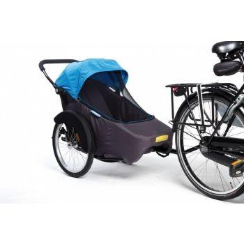 TwinnyLoad - Fahrradanhänger Twinny Hera 20Zoll blau Anhänger/Seitenwagen preview image