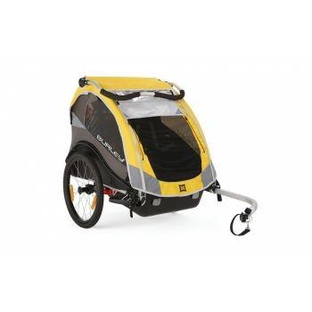 Burley - Fahrrad-Kinder-Anhänger Burley Cub Modell 2016 gelb preview image