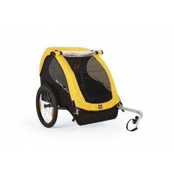 Burley - Fahrrad-Kinder-Anhänger Burley Bee Modell 2016 gelb (reiner Radanhänger) preview image