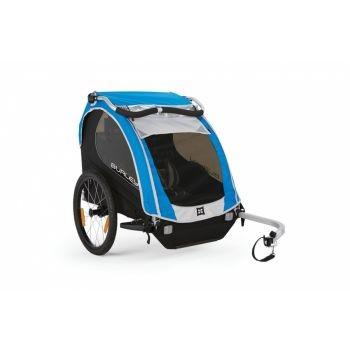 Burley - Fahrrad-Kinder-Anhänger Burley Encore Modell 2016 blau preview image