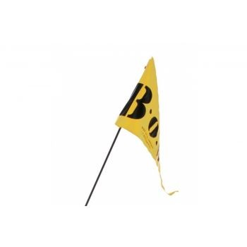 ZweiPlusZwei - Wimpel für BOB gelb zweiteilig für BOB-Anhänger preview image