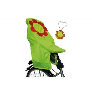 Diverse - Regenschutz Kindersitz Lucky Cape Quick Motiv Flower, gelb preview image