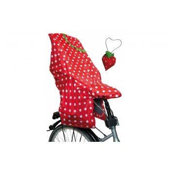 Lunari - Regenschutz Kindersitz Lucky Cape Quick Motiv Berry, rot preview image