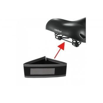 Diverse - Fingerschutz für Sattelfeder Kunstleder mit Reflexband preview image