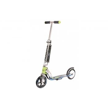 Hudora - City Scooter Big Wheel Hudora Alu 8Zoll 205 grün/blau 205mm preview image