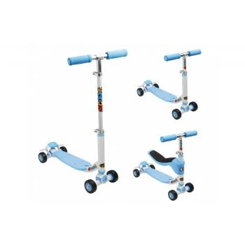 Diverse - City Scooter Fuzion 4-in-1 blau/silber/schwarz preview image