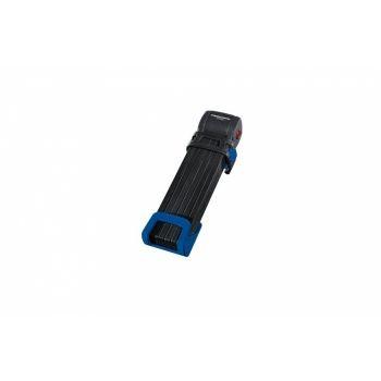 Trelock - Faltschloss Trelock Trigo L mit Halter FS 300/100, blau, mit Kunststoffhalter preview image