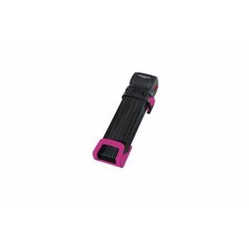 Trelock - Faltschloss Trelock Trigo L mit Halter FS 300/100, pink, mit Kunststoffhalter preview image