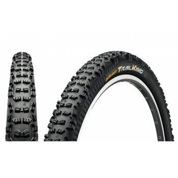 Continental Fahrradreifen Trail King 2.4 ProTec. faltbar 27.5x2.40 Zoll Etrto 60-584 schwarz/schwarz preview image