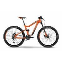 Haibike Fahrrad Q.EN 7.05 27.5 Zoll 11-G GX1 orange/grau/schwarz RH 49 preview image