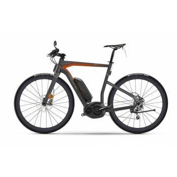 Haibike Fahrrad XDURO Urban S Pro 500Wh 11-G Force anthrazit/rot matt RH 56 preview image