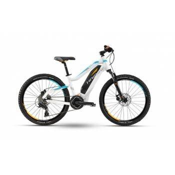 Haibike Fahrrad SDURO HardFour Life 24 400Wh 9-G Acera weiß/cyan/orange matt RH 34 preview image
