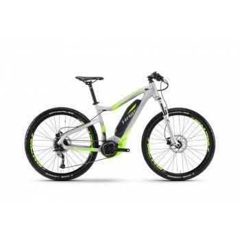 Haibike - SDURO HardSeven 4.0 400Wh 9-G Acera 17 HB YWE silber/neon grün matt Rh55 preview image