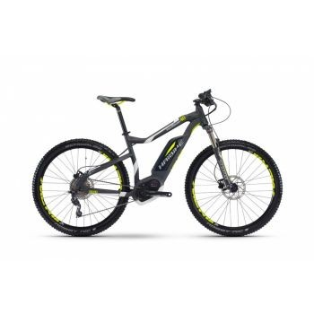 Haibike - XDURO HardSeven 4.0 400Wh 10-G Deore 17 HB BPI anthrazit/weiß/lime matt Rh45 preview image