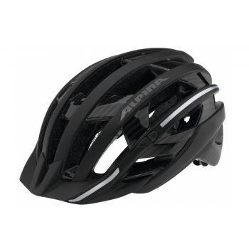 Fahrradhelm Alpina e-Helm Deluxe Gr. M (55-59cm) schwarz/Reflex preview image