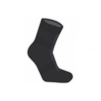 SealSkin - Socken SealSkinz Road Ankle Hydrostop Gr.L (43-46) schwarz/grau wasserdicht preview image