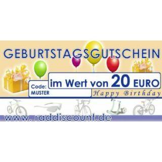 Raddiscount Geburtstags-Gutschein preview image