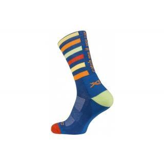 XLC - XLC All MTN Socke CS-L02 blau-gestreift Gr. 42-45 preview image