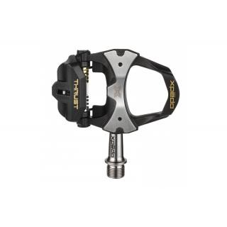 Xpedo - Pedal Xpedo Clipless THRUST TI schwarz, 9/16Zoll Road Thrust kompatibel preview image