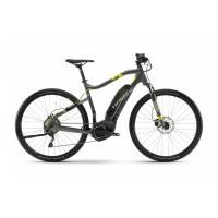 Haibike - SDURO Cross 4.0 Herren 400Wh 10-G Deore 18 HB YWC anthr./schwarz/lime Gr. S preview image
