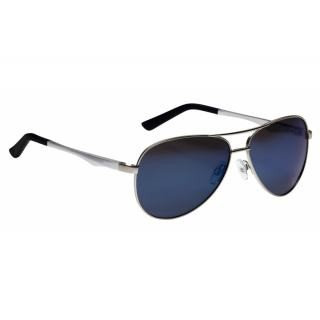 Alpina - Sonnenbrille Alpina A107P Rahmen silberGlas pol blau versp.S3 preview image