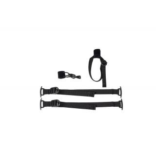 ORTLIEB Set aus Stockhalterung und 2 Kompressionsgurten für Gear-Pack - black Farbe: black preview image