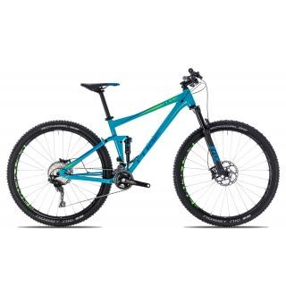 Cube Stereo 120 Race 2018 19 Zoll   blue´n´green   29 Zoll preview image