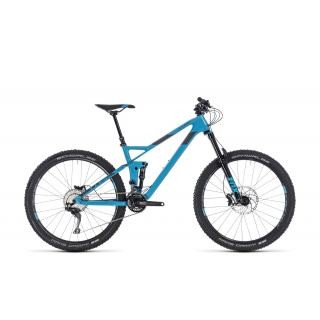 Cube Stereo 140 HPC Race 2018 16 Zoll   blue´n´grey preview image