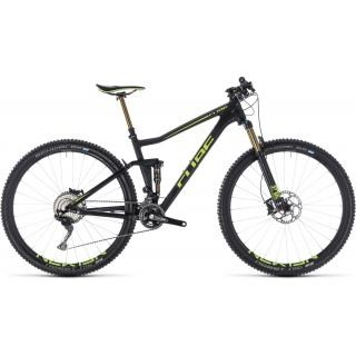 Cube Stereo 120 HPC SLT carbon´n´flashgreen 19´´ 2018 preview image