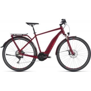 Cube Touring Hybrid EXC 500 darkred´n´red 50cm 2018 preview image