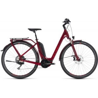 Cube Touring Hybrid EXC 500 Easy Entry darkred´n´red 46cm 2018 preview image